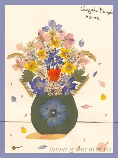 Vaza cu flori_Oana