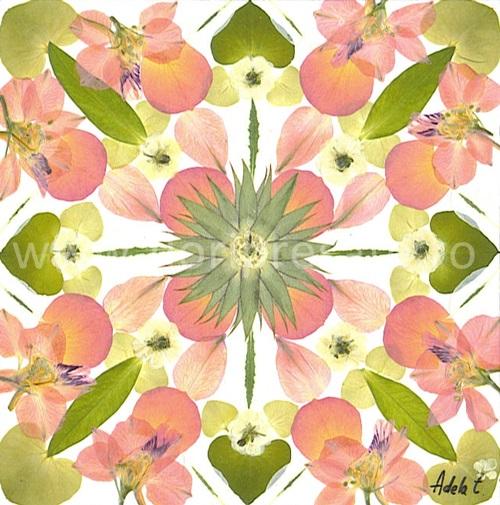 Mandala-primavara-flori-presate